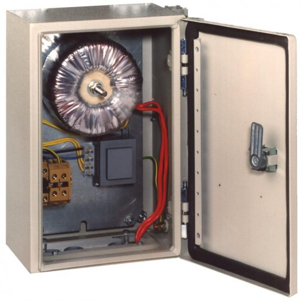 Toroidalcore transformer cabinet
