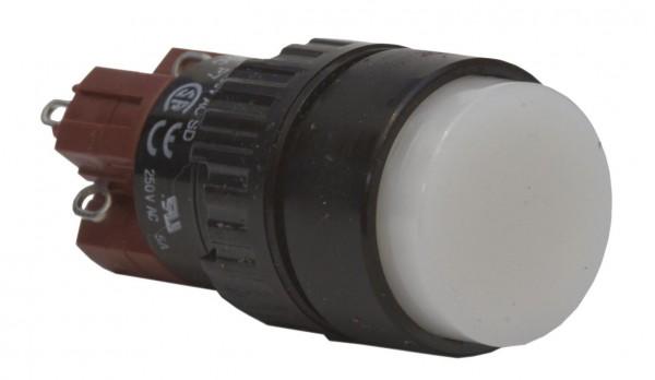 Leuchtdrucktaster/schalter 230V rund 18mm