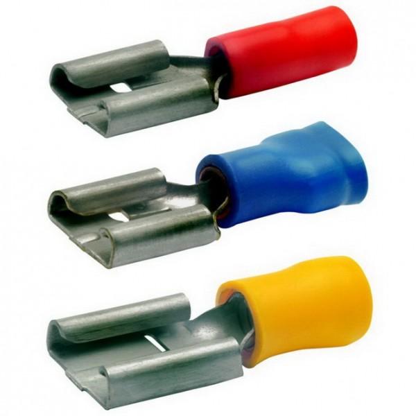 Flachsteckhülse 0,5mm² - 6mm²