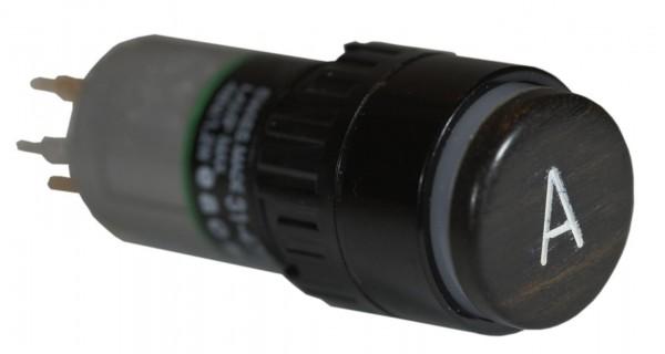 Leuchtdrucktaster rund 18mm