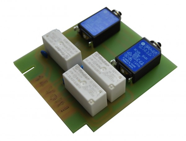 Slider action motor control circuit board