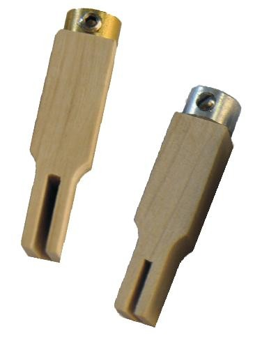 Tracker connectors with collet