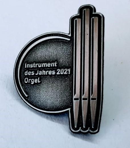 """Anstecker """"Jahr der Orgel 2021"""""""