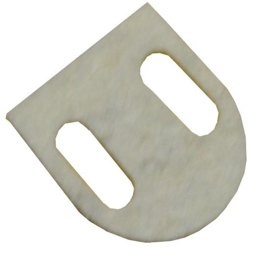 Unterlegfilz Ventilscheibenmagnet / Wippmagnet
