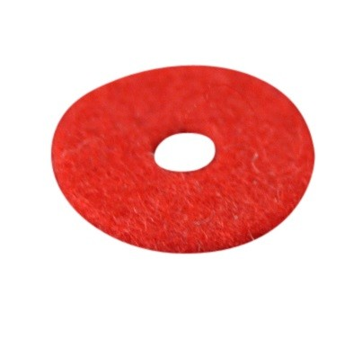 Felt washer (red)