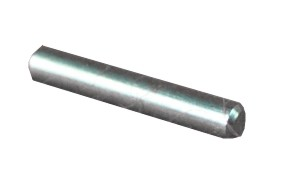 Axle for bearing capsules