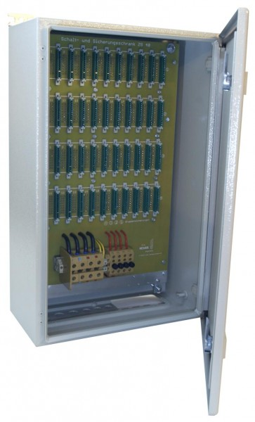 Central rectifier cabinet